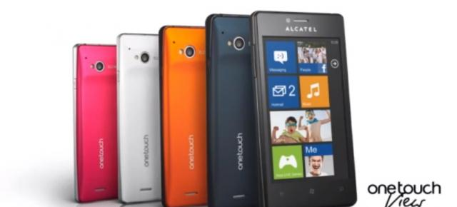 Reclamă video la un nou smartphone cu Windows Phone 7.8 - Alcatel One Touch View