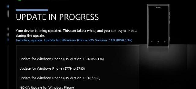 Nokia Lumia 900 primește Windows Phone 7.8, disponibil de acum sub formă de update software