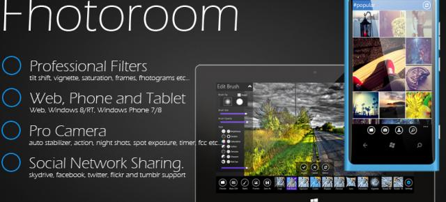Fhotoroom Review: cea mai bună aplicație de editare foto de pe Windows Phone (Video)