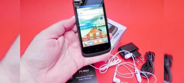 Allview P5 Mini unboxing: scoatem din cutie un model low end cu Android 4.0 (Video)