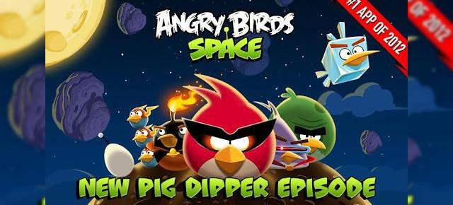 Angry Birds Space Pig Dipper review: 30 de nivele noi, gravitația Întâlnește gameplay-ul acvatic (Video)