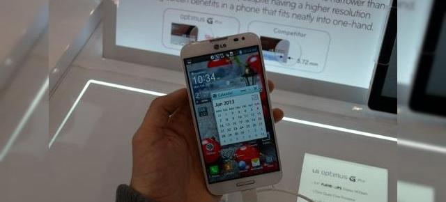 MWC 2013: LG Optimus G Pro hands on, un super phablet Întors pe toate părțile (Video)