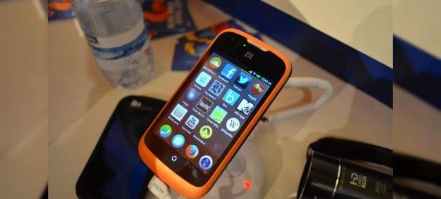 MWC 2013: Firefox OS Într-un hands on preview pe telefonul ZTE Open (Video)