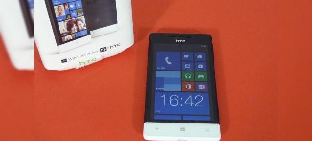 HTC Windows Phone 8S Unboxing: puțin design de HTC 8X, preț accesibil (Video)