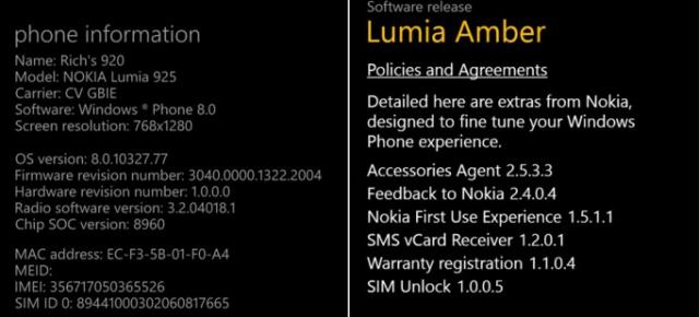 Noutăți aduse de Windows Phone 8 GDR2 (Amber)