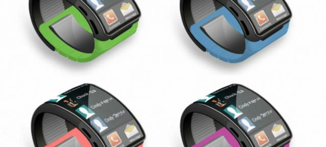 Samsung Galaxy Gear, un concept de smart watch Samsung cu ecran flexibil