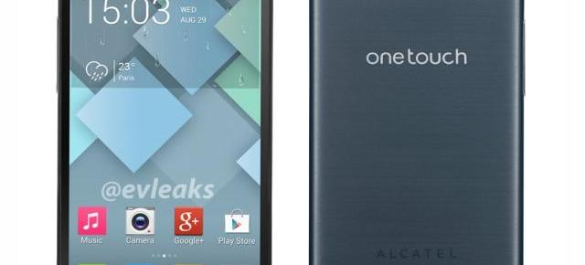 și Alcatel are un telefon Mini! Alcatel One Touch Idol Mini apare Într-o imagine de presă!