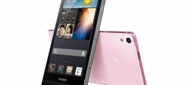 Huawei Ascend P6 listat În magazinele Germanos