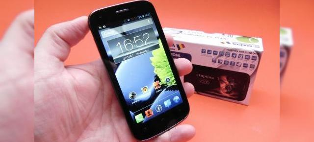 E-Boda Eruption V200 Quad Core unboxing: telefon dual SIM quad core cu accesorii binevenite (Video)