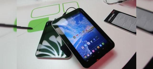 IFA 2013: Toshiba Excite Write hands on - o tabletă cu CPU Tegra 4 pentru profesioniști (Video)
