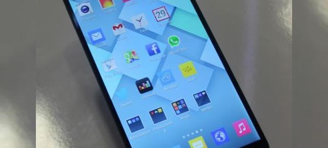 IFA 2013: Alcatel One Touch Hero hands on - phablet de 6 inch cu interfață ce amintește de iOS 7 (Video)