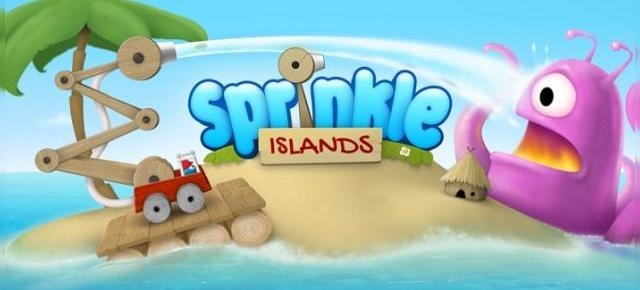 Sprinkle Islands review: un puzzle pe bază de fizică a apei testat pe HTC One Mini (Video)