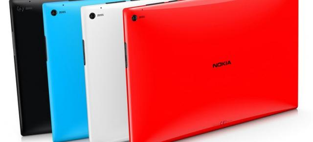 Tableta Nokia Lumia 2520 anunțată oficial, vine cu display Full HD, LTE și Windows RT