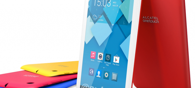 Alcatel One Touch Pop 7, o nouă tableta colorată cu Android