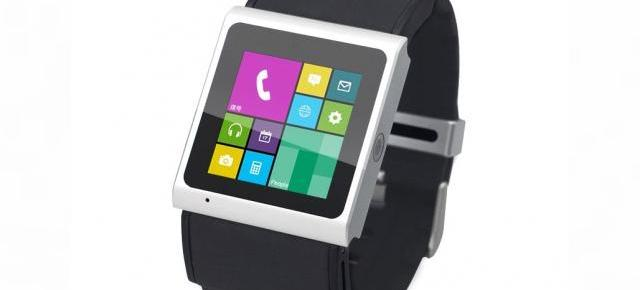 GooPhone Smart Watch, un ceas cu interfață ce aduce cu Windows Phone (Video)