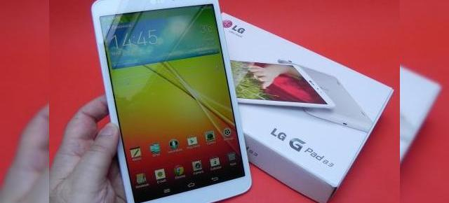 LG G Pad 8.3 unboxing: format inedit, design solid, funcții de LG G2 (Video)
