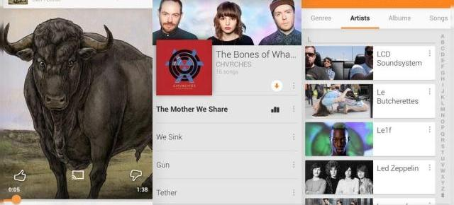 Google Play Music primește un update de interfața pe iOS 7 și o nouă funcție radio