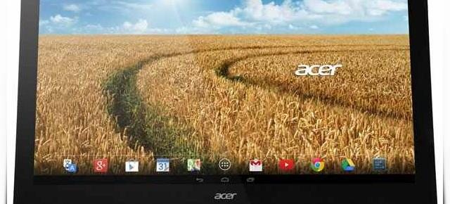 Acer lansează un PC Android All-in-One de 27 de inch pe nume Acer TA272
