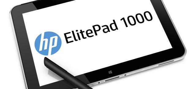MWC 2014: HP lansează tableta business ElitePad 1000 G2