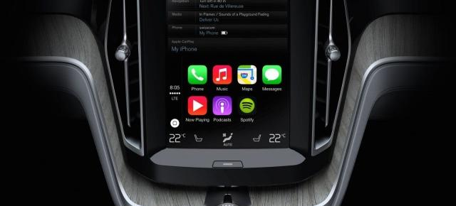 Volvo prezintă integrarea lui Apple Carplay pe automobilele sale (Video)