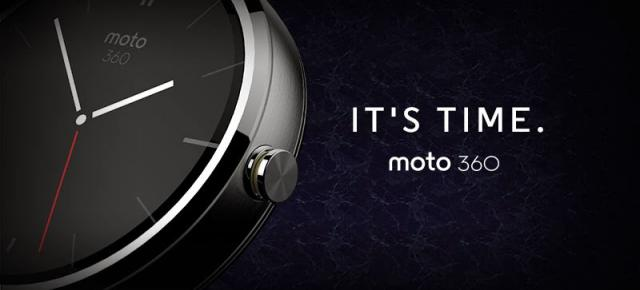 Motorola anunță Moto 360, un smartwatch modern bazat pe Android Wear (Video)