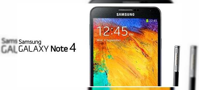 Posibilele specificațiile ale lui Samsung Galaxy Note 4 scot la iveală un display Quad HD