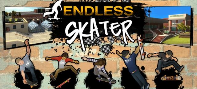 Endless Skater review (ASUS VivoTab Note 8): un endless runner combinat cu simulator de skateboarding, dar unul frustrant (Video)