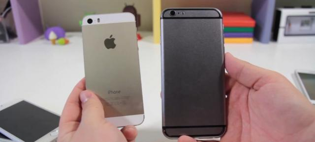 iPhone 6 Într-un prim clip hands on detaliat, În versiunea macheta (Video)