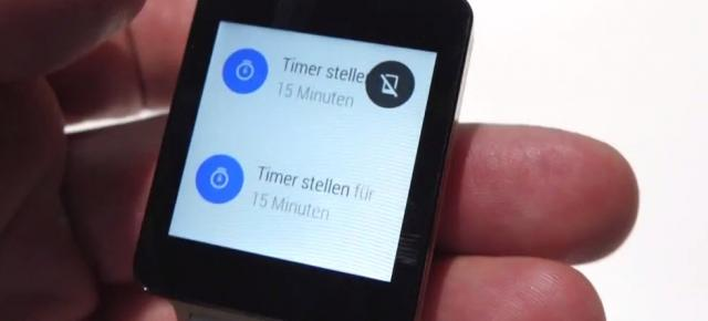 LG G Watch Își face apariția Într-un scurt material video hands-on
