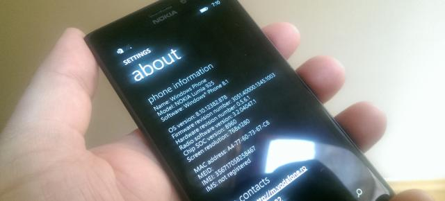 Microsoft actualizează Windows Phone 8.1, versiunea preview
