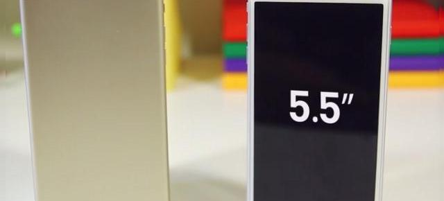 iPhone 6 de 5.5 inch este uriaș! Iată-l comparat cu Galaxy Note 3 și LG G3 (Video)