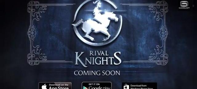 Rival Knights Review (LG G Pro 2): În sfârșit un joc original de la Gameloft, un simulator de turnir (Video)