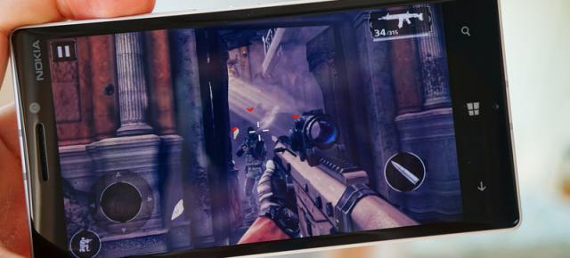 Modern Combat 5 disponibil pe Windows Phone acum, În curând și pe Windows 8