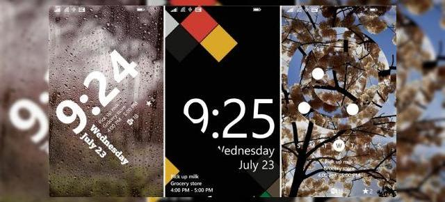 Aplicația Live Lock Screen Beta disponibilă acum pentru terminalele Windows Phone 8.1
