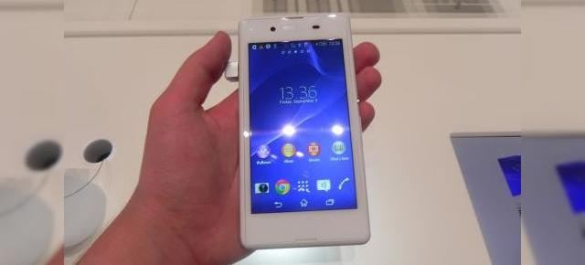 IFA 2014: Sony Xperia E3 hands on - micul smartphone accesibil cu design inspirat de flagshipuri (Video)