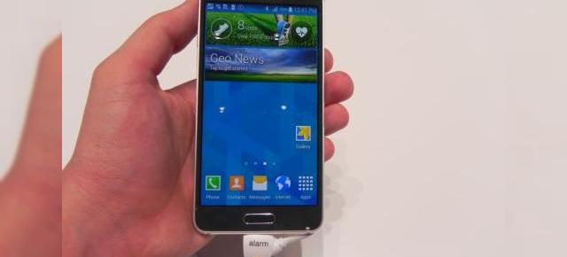 IFA 2014: Samsung Galaxy Alpha hands on - Samsung dovedește că e loc și de metal În galaxia sa (Video)