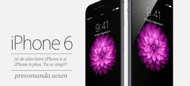 Noul iPhone 6 și iPhone 6 Plus disponibile (din nou) la precomandă prin QuickMobile.ro