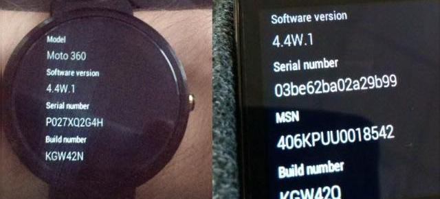 Ceasurile Android Wear primesc un update software: Android Wear 4.4W.1 disponibil