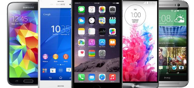 Comparație specificații iPhone 6 Plus vs HTC One (M8), Xperia Z3, Galaxy S5, LG G3