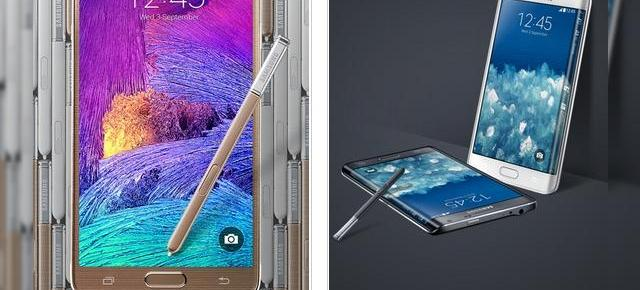 Samsung Galaxy Note 4 și Note Edge disponibile la precomandă prin QuickMobile.ro
