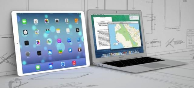 iPad Pro, tableta de 12 inch Apple ar putea adopta Mac OS și iOS