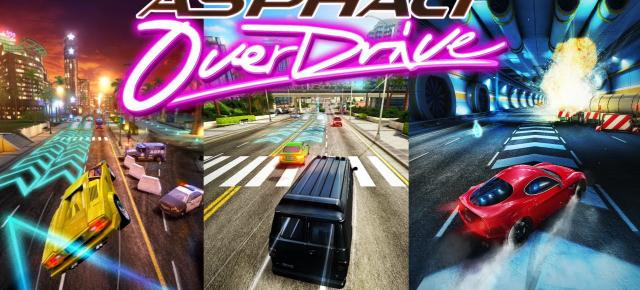 Asphalt Overdrive Review (iPhone 6 Plus): endless runner cu supermasini, repetitiv dar distractiv (Video)