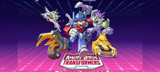 Angry Birds Transformers Review (iPhone 6): auto runner cu Autoboti și distrugere totală de porci și obstacole (Video)