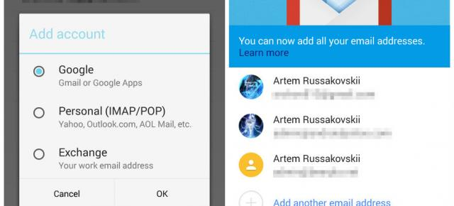 Gmail 5.0 disponibil acum spre download, cu suport Exchange și Material Design