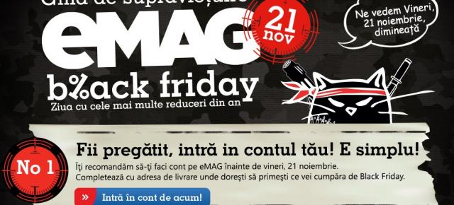 eMAG dezvăluie noi informații din culisele celui mai mare eveniment de Black Friday (Video)