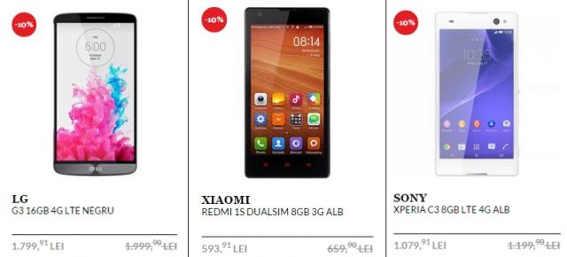 Top 3 telefoane și tablete În oferta QuickMobile de Black Friday