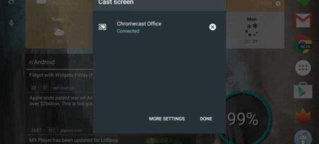 LG G Pad 8.3 Google Play Edition și Nvidia Shield Tablet primesc suport pentru Chromecast Screen Casting