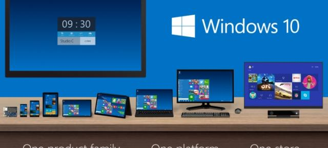 Microsoft pregătește un eveniment marca Windows 10 pe data de 21 ianuarie