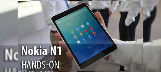 MWC 2015: Nokia N1 hands-on - elful finlandez din metal care imită iPad Mini (Video)
