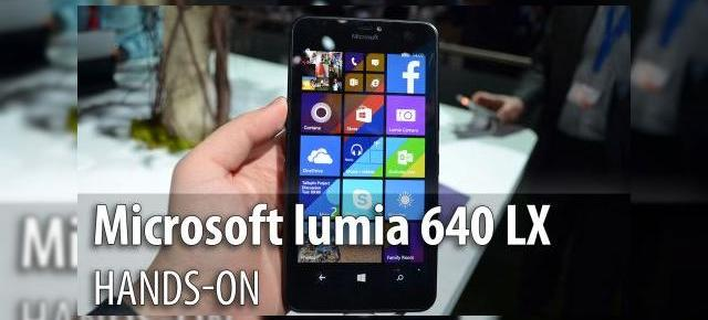 MWC 2015: Microsoft Lumia 640 XL hands-on - phablet HD cu Office 365 la pachet (Video)